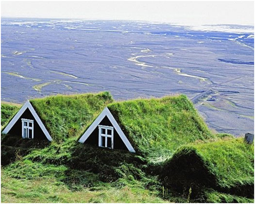 Green-roof-sloped